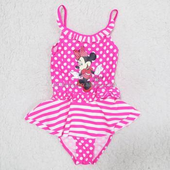 8a2ae4183327 Costume da bagno costumi da bagno bambina Minnie Ragazza Bambino vestito di  nuoto di un pezzo