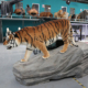 amusement park rides hot sale animatronic tiger