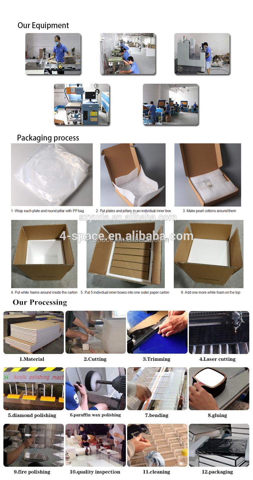 uncovered clear lucite document storage case acrylic display box with metal bars desk rectangular plexiglass book box