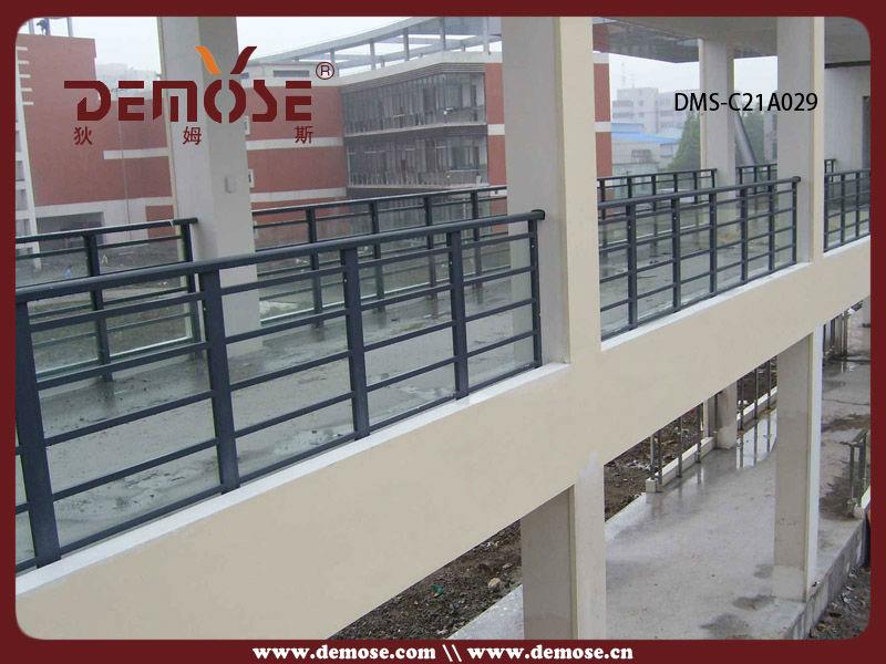 Al aire libre de aluminio escaleras balc n barandilla de for Escalera de madera al aire libre precio