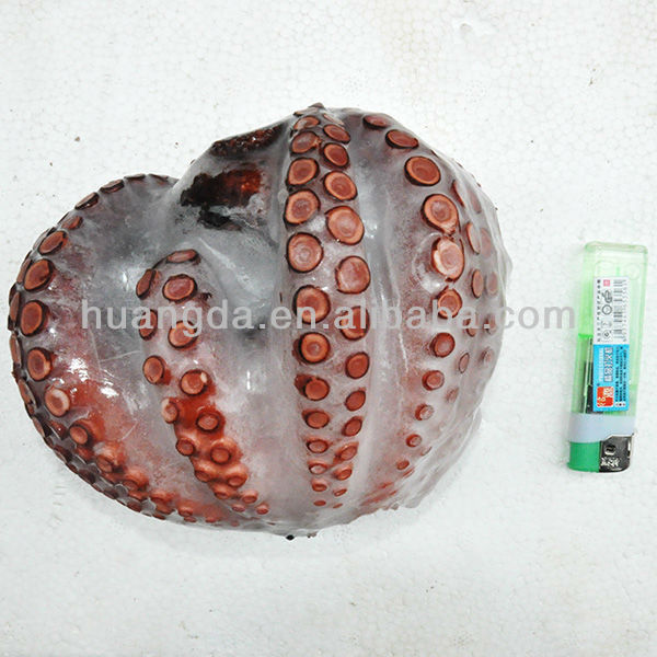 Frozen Whole Round IQF Boiled Octopus for sale seafood prices