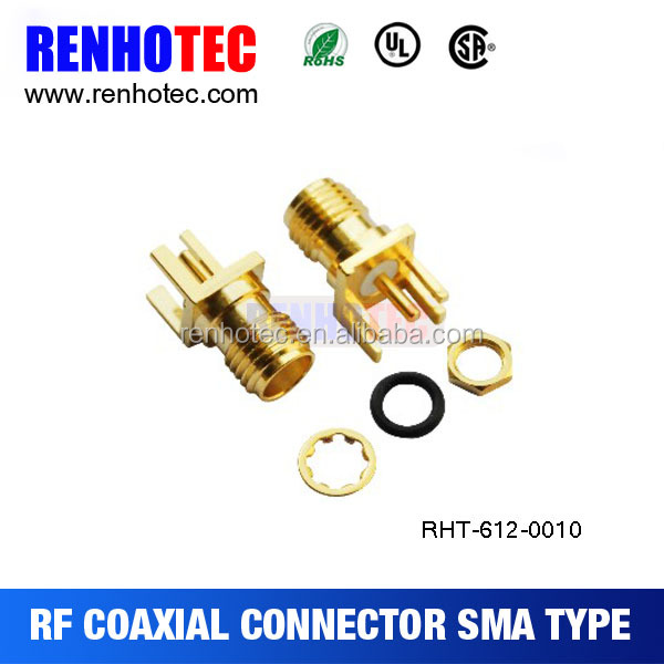 Factory Price Waterproof Bulkhead Sma Connector