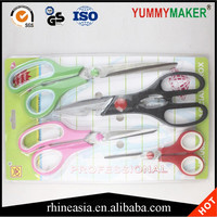 Sewing Scissors Dressmaking Hairdressing Shears Tailor Scissors 4pcs/set
