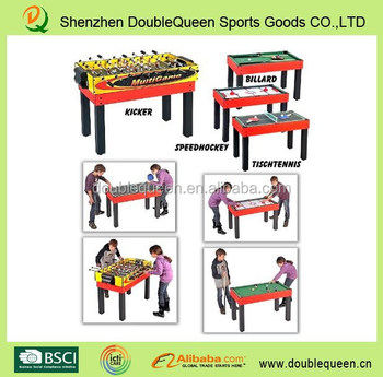 Professional Standard 4ft Foosball Table Dimension With 4 Kinds Of Game  Table