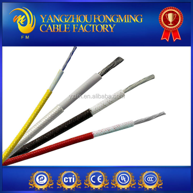 Silicone Insulated high temperature electric cable and wire with UL 3075