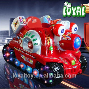 2016 coin operated discount riding gear, newest tank carousel ride for sale, commercial grade viedo games