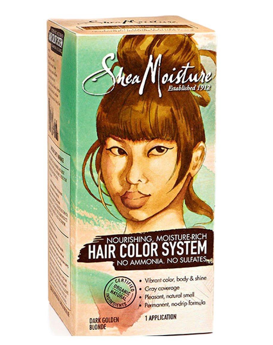 Buy Shea Moisture Dark Golden Blonde Hair Color System Sulfate