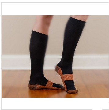 Compression Spot copper fiber nylon sport socks
