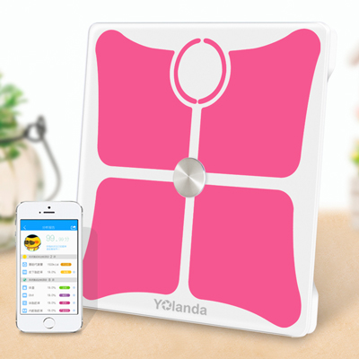 195KG 430lb High Accuracy 14 Data Body Composition Analyzer Bluetooth Electronic Smart Weighing Scale