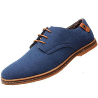 cz18038b New arrival italian design gentleman suede leather casual lace up plus size 48 shoes for men