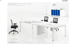Hot sale L shape melamine manager executive computer desk made in China
