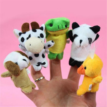 10 pcs Child Puppet Finger Doll Portable Cartoon Baby Plush font b Toys b font font