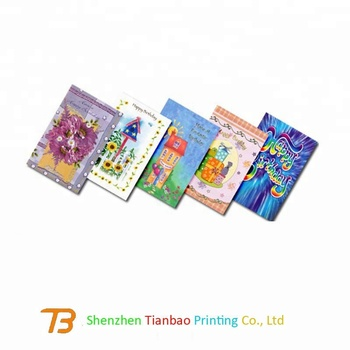 Bulk Cheap Birthday Greeting Cards Printing