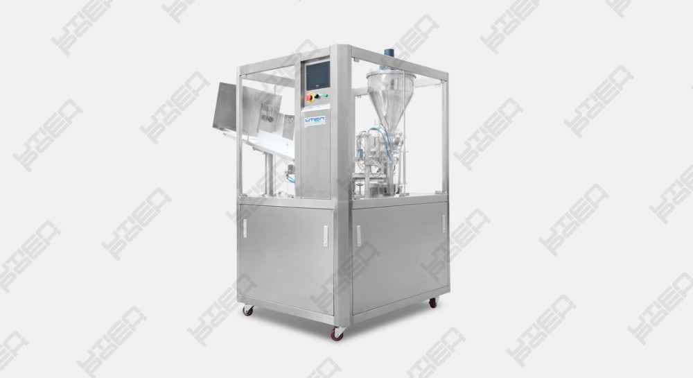 Popular ultrasonic tube filling filler and sealing machine  for cosmetic toothpaste