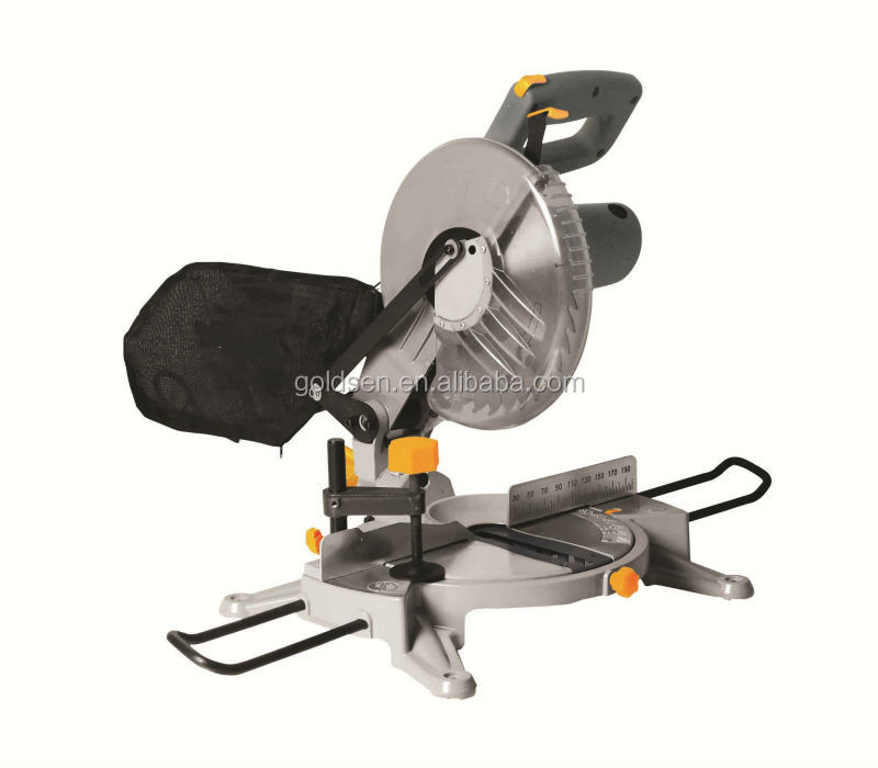 "Best Selling 255mm 10"" 1800W Portable Compound Miter Saw Electric Aluminium Cutting Cut Off Saw"