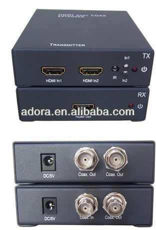 HDMI Extender by single coaxial cable, Engineering machine