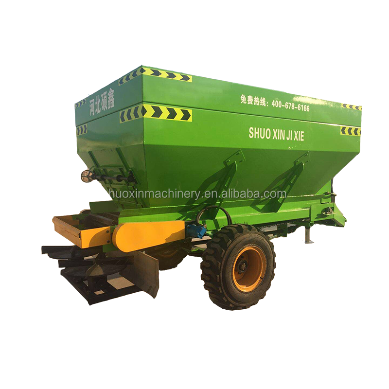 Wholesale 3.5 M3 Volume Mounted Compost Manure Spreading Truck