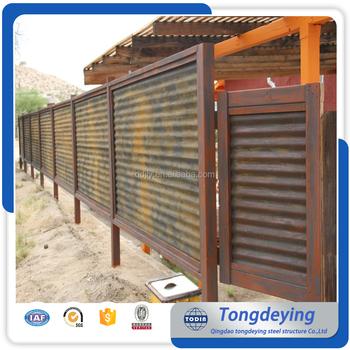 Recinzioni In Ferro Per Giardino.Metallo Acciaio Di Sicurezza Privacy Pannelli Di Recinzione