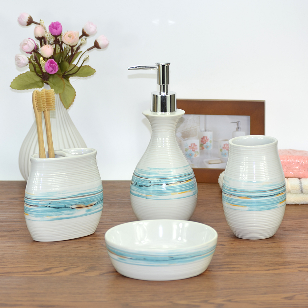 Handmade Ceramic Bathroom Sets Supplieranufacturers At Alibaba