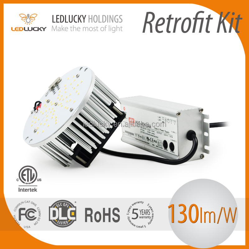 High quality FCC DLC ETL 40w street light led retrofit kit