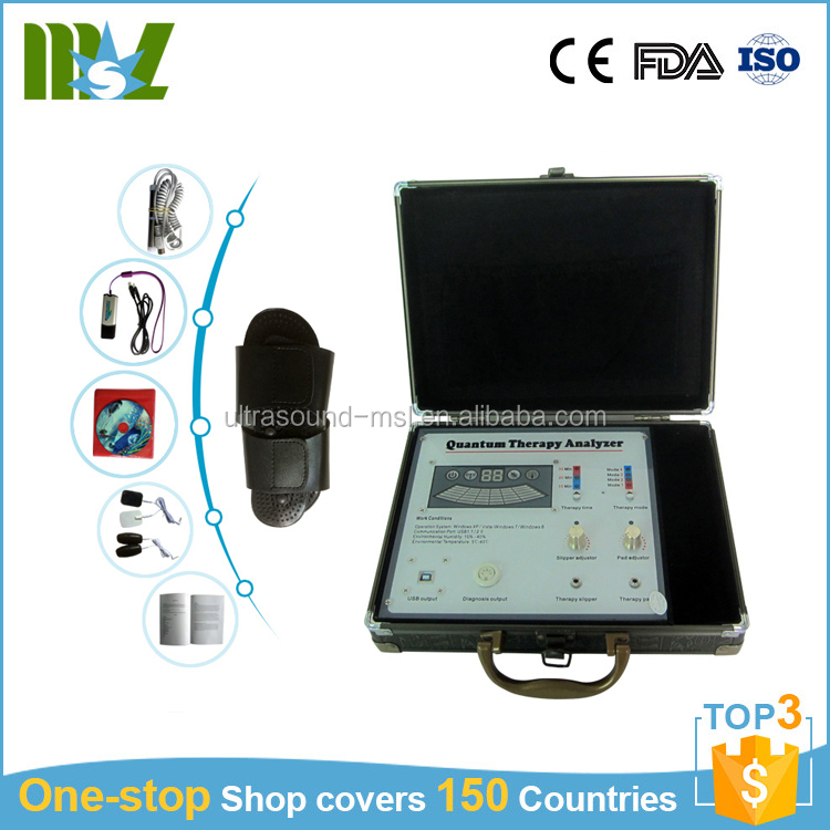 portable high accuracy quantum resonance magnetic analyzer body analyzer with 41 test report