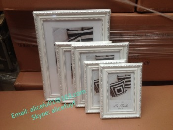Wholesale White Baroque Photo Picture Frame 4x6 5x7 6x8 8x10