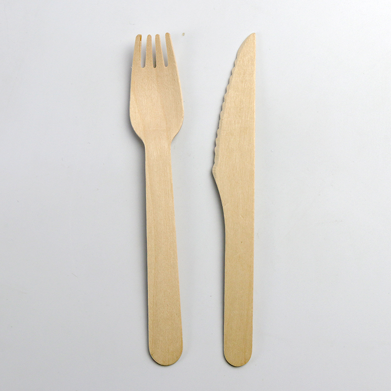 high quality natural long handle Wooden Spoon And Fork