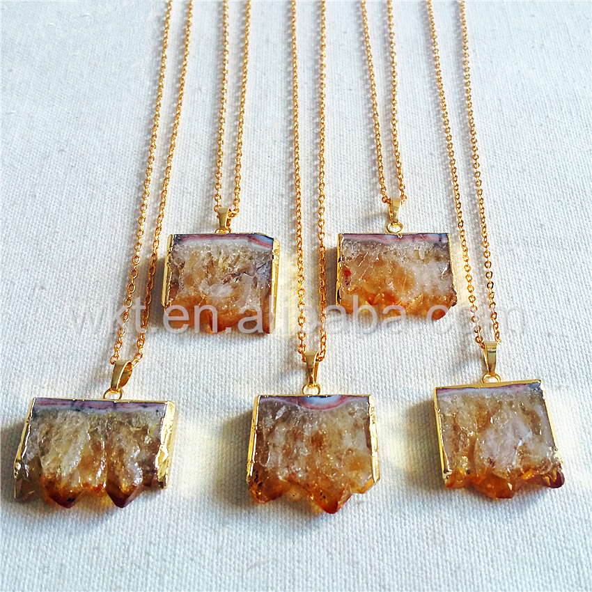 Christmas Presents For Women.Wt N802 Christmas Presents For Women Natural Citrine