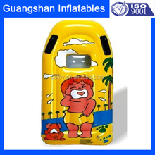 swimming pool cartoon inflatable plastic floating air mattress