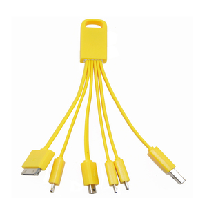 Yellow Color Multi Phone Charging Cable USB Mode 2