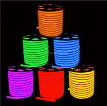 14/16/18/20/22mm Mini Giacca di Colore Al Neon Flex <span class=keywords><strong>LED</strong></span> 110 v ogni 0.5 meter cuttable Flessibile <span class=keywords><strong>LED</strong></span> Neon Rope