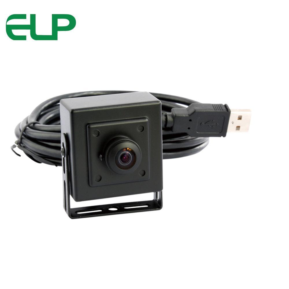 CCTV 2MP 1080P USB UVC Camera Module 180degree Fisheye Lens for Machine Vision