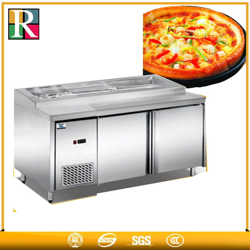 Can customization used deep freezer automatic 2door commercial horizontal refrigerator freezer