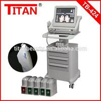 TB-424 health and safety equipment titan gel ultrasound skin tightening machine