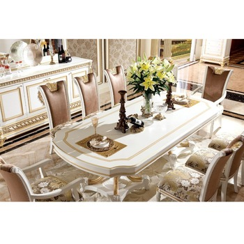 Beau YB62 1 Luxe Salle à Manger Ensemble De Meubles/Antique Classique Ensembles  De Salle