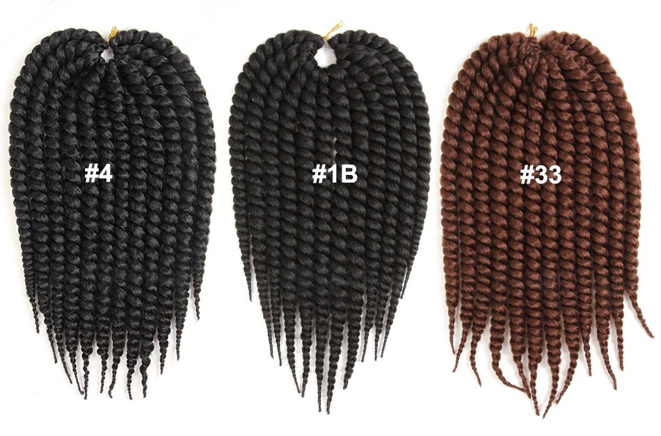 20inch Burgundy Toyokalon Synthetic Marley Braid Afro Curl Hair Twist