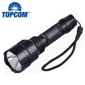 2017 best selling rechargeable torch flashlight/Aluminum led light/Ultrafire C8 XM-L T6 led torch best led flashlight