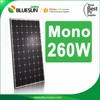 High quality 240wp 245wp 250wp 255wp 260wp 265wp 270wp sharp solar panel modul made in japan