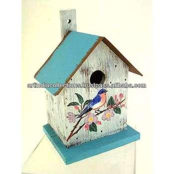House Tree Bird Cage Hanging Metal