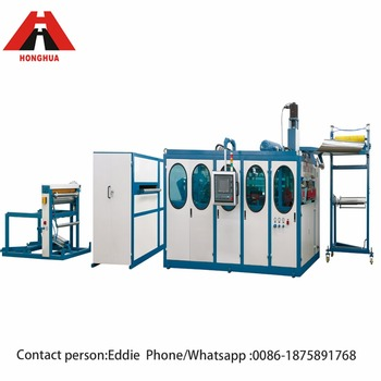 HSC-660D Semi automatic multi function thermoforming machine for plastic products