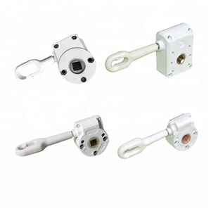 Copper gear box for retractable folding arm manual awnings