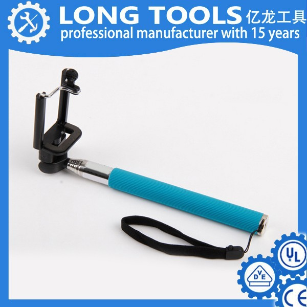 Colorful Smartphone high quality selfie monopod tripod mount adapter