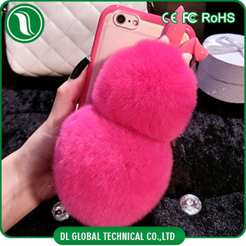 factory authentic 81fe9 5caca Handmade Silicone Rex Fur Case For Iphone 6 Winter Mobile Cover With Rabbit  Fur - Buy Winter Mobile Cover,For Iphone 6 Winter Mobile Cover,For Iphone  ...