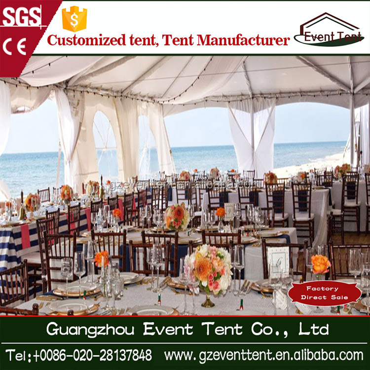 500 seats big Merry Christmas white catering wedding party tent for sale