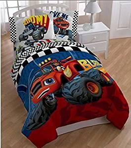 buy 5 piece kids monster truck comforter twin set large monster