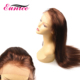 Wholesale Unprocessed Real Mink Virgin Brazilian Hair Silky Straight Half Machine Made Wig