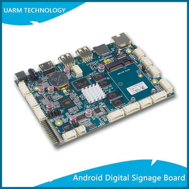 Arm Cortex-a7 Octa Core Board With 3 Usb Port 3g Pci_e Wifi Lvds ...