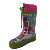 high quality factory kids rain boots