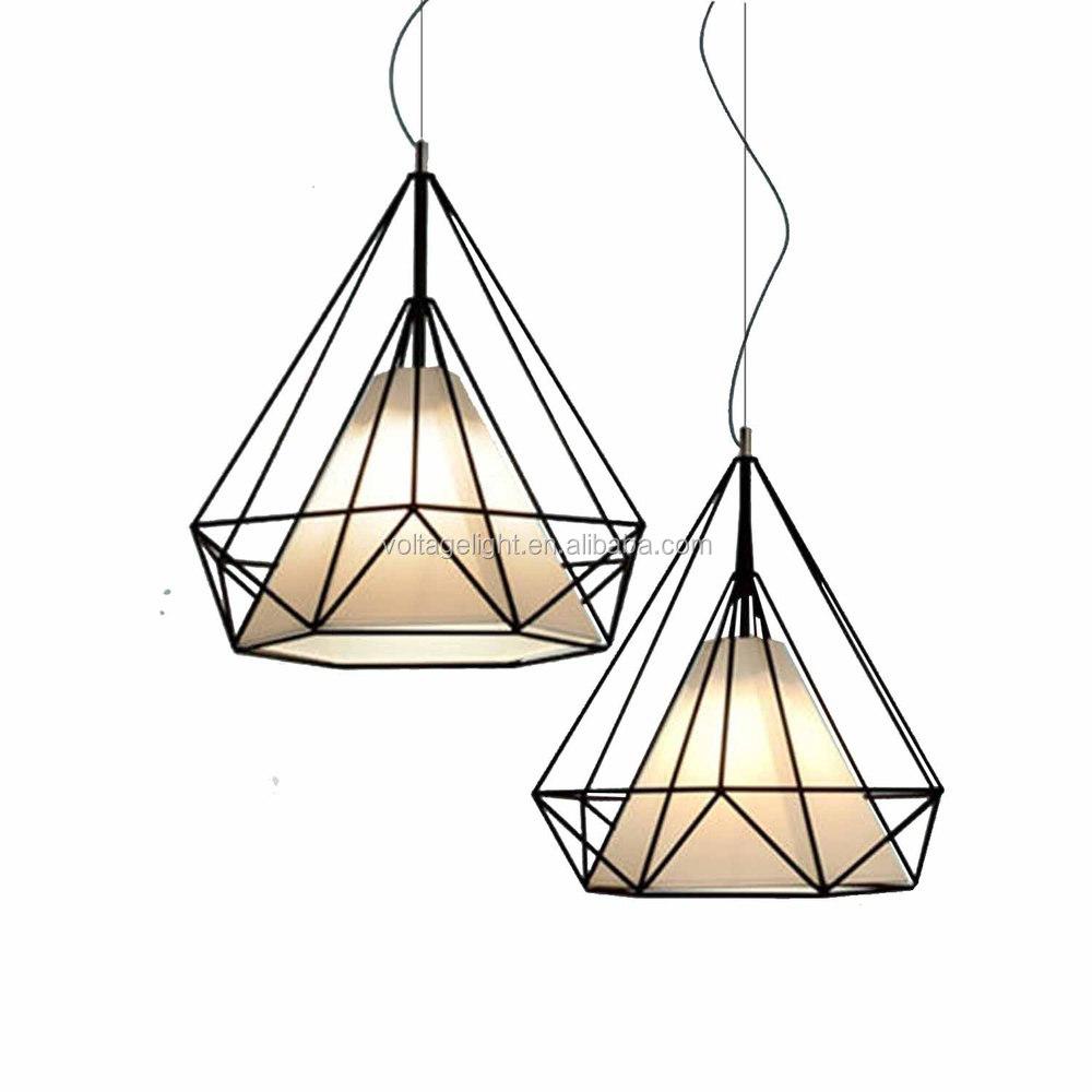 Hot Vendre Vintage Moderne Loft Industriel Fil Noir Pendentif Lampe