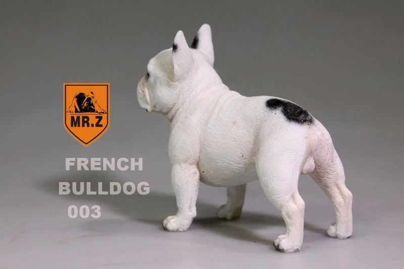 Mr.Z Animal Statue 1/6 French Bulldog White/khaki/black 5 color Model Toys Hobbies Action Figure <font><b>Accessories</b></font> Collections